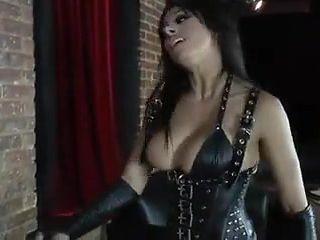 Mistress Pegging her slave