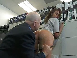 Big beautiful ass gets fucked hard by two. Office. (Try something different » Free)