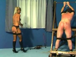 Caning and whipping by mistress Gitta