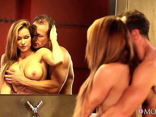 Crazy pornstars Simona Nikolay, George in Exotic MILF, Romantic porn scene