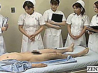 Subtitles Cfnm Japanese Hospital Blowjob