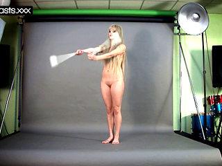 Hot Gymnast Naked Teen