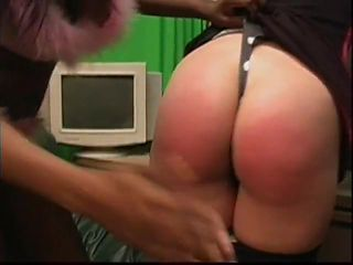 Two Girls spank eachother