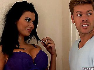 Pure Xxx Films Housewife Jasmine Jae Cheats On Her Husband