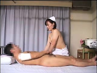 Alluring Japanese nurse is always eager to blow and bang a