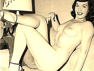 Bettie Page  Cum Party