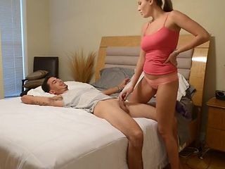 Panty sniffing brother caught