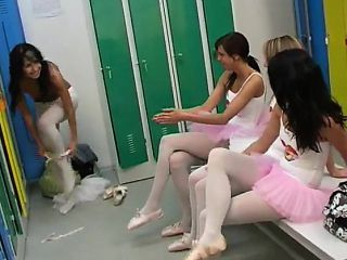 Cute teen couple Hot ballet doll orgy