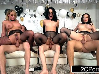 New Year Orgy