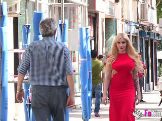 Clara Rubi Fucked In Her Red Dress