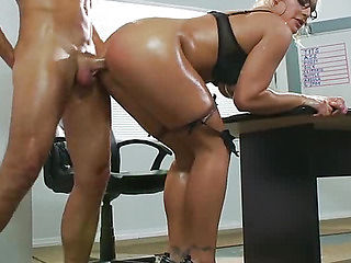 Horny teacher fucking analy with student