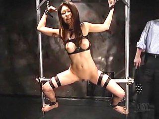 Incredible Japanese model Runa Sezaki in Horny BDSM, Dildos/Toys JAV video