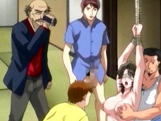 Hentai Mom Fucked In Gangbang Squirts Hard