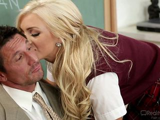 blonde babe teach her teacher @ corrupt schoolgirls #06