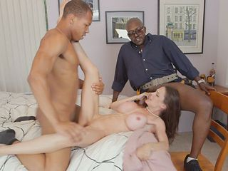 Foxy lonely housewife adores big black cocks