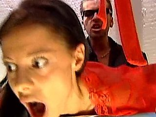 Olivia De Treville    Surprised Ironing