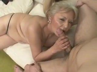 Granny is feeling lewd