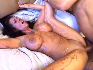 Hottest pornstar Anjelica Lauren in crazy squirting, cumshots porn scene