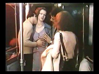 GangBang in Subway with Brigitte Lahaie