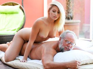 Aria Logan & Albert in Grandpa Got Me Wet - 21Sextreme