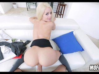 Awesome Doggystyle with Little Blonde