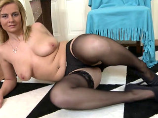 Sexy Blond Mature