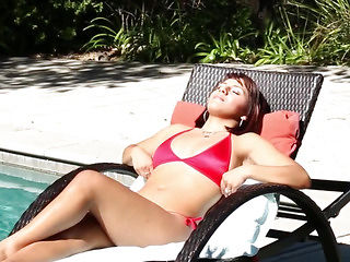 Throated bikini wench desires to be drilled coarse