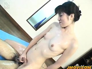 Alluring babe Rina is pleasuring stud with an erotic rodeo