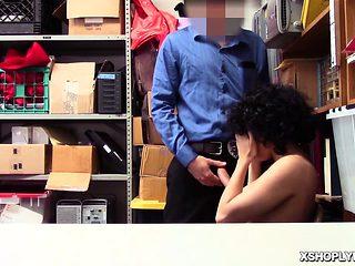 LP Officer ravaging fuck Maya Morenas tight pussy