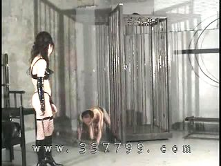 Domina is to train the slave using the whip
