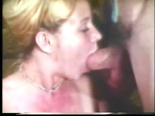 cute classic blond fucked and face creamed