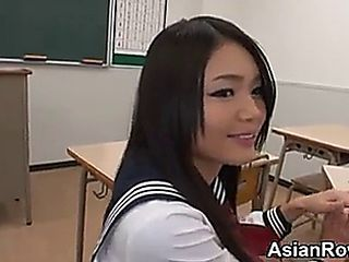 18yo Asian Schoolgirl Giving Bjs