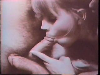 Vintage bisexual double blowjob