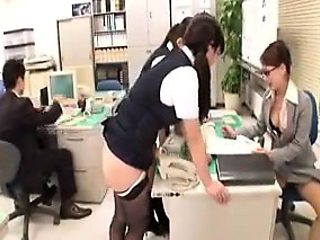 Enchanting Japanese girls showing off their sexy curves in