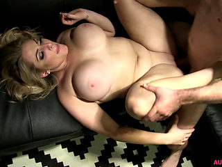 Blond With Big Tits Getting Fucked