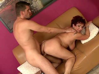 Jesica Pounded Hard On The Couch