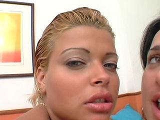 Two Hot Brazilian Girls Getting Fucked Hard