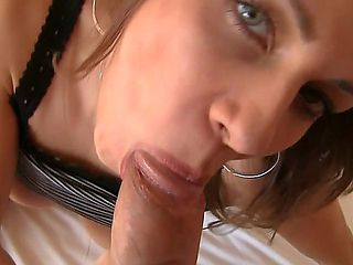 Rachel Evans is a Czech hoochie that will have to work real hard in order to prove that she has t...
