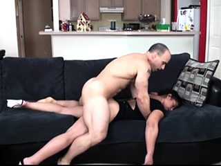 My Mom and her toyboy on my hidden cam