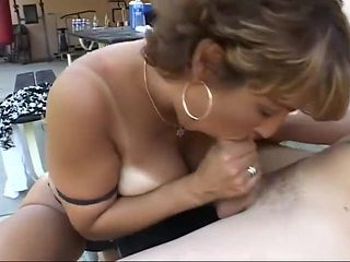 Busty Milf Really Knows How To Suck Good