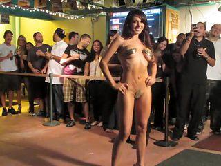 Nude Fashion Weekin The Pub Micro Bikini Final 1