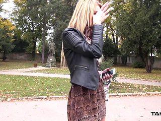 Takevan - Just divorced hottie fuck first stranger she meet
