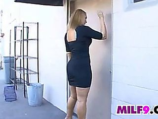 Sexy Blonde Mother On A Bbc