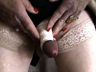 Fetish Crossdresser Masturbating Alone