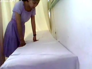Asian woman rectum inspected