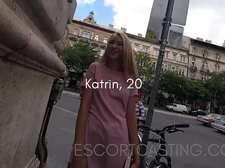 Cute Blonde Teen Cast As ### Off The Street