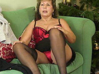 Sexy British Granny , Caroline