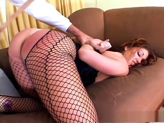 Fabulous pornstar Tiffany Mynx in horny lingerie, deep throat porn video