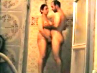 old arab porno in the shower