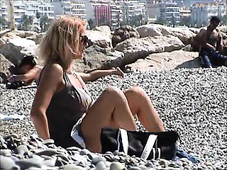Incredible german female nude french riviera